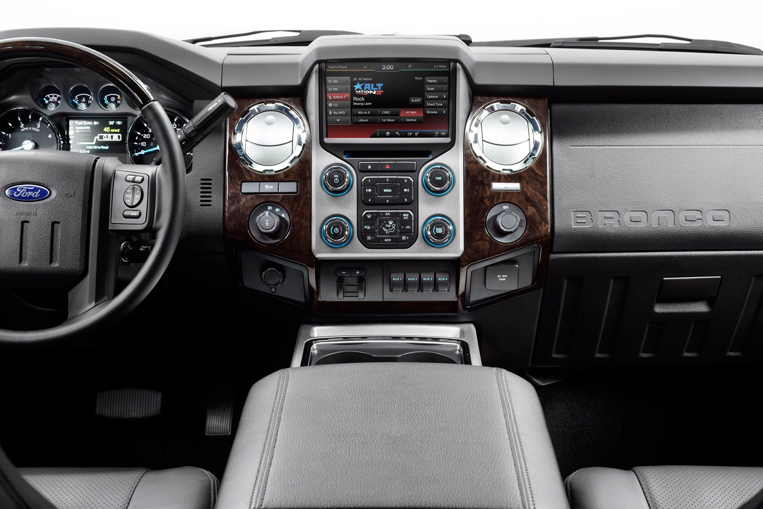 2016 Ford SVT Bronco  3  Dashboard