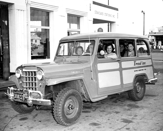 1952 Jeep Station Wagon – Truck Trend History
