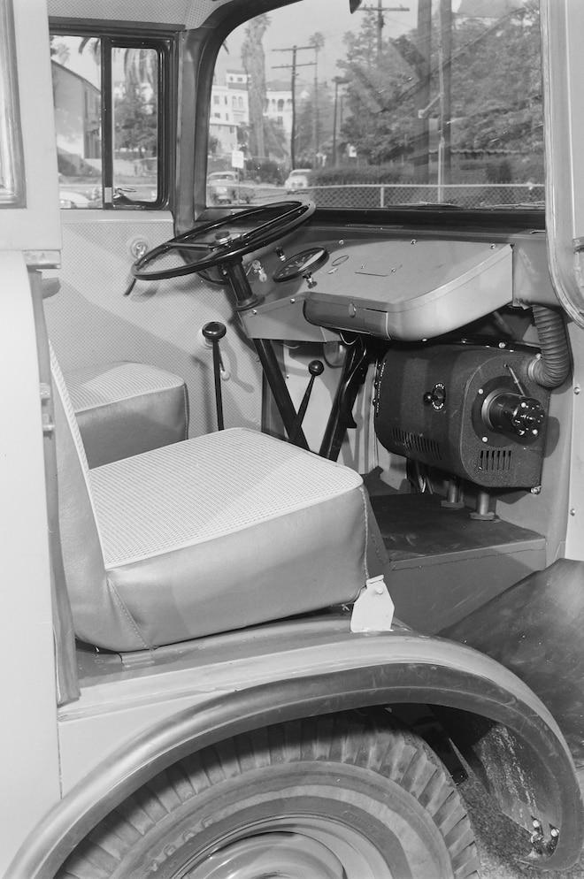1957 Forward Control Jeep Interior
