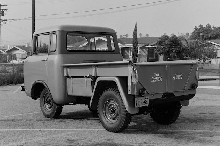 1957 Forward Control Jeep Rear View