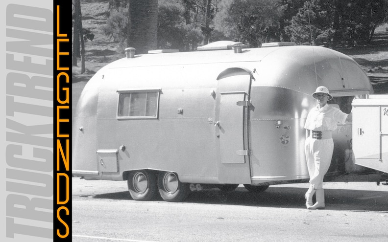 Airstream Trailer - Truck Trend Legends