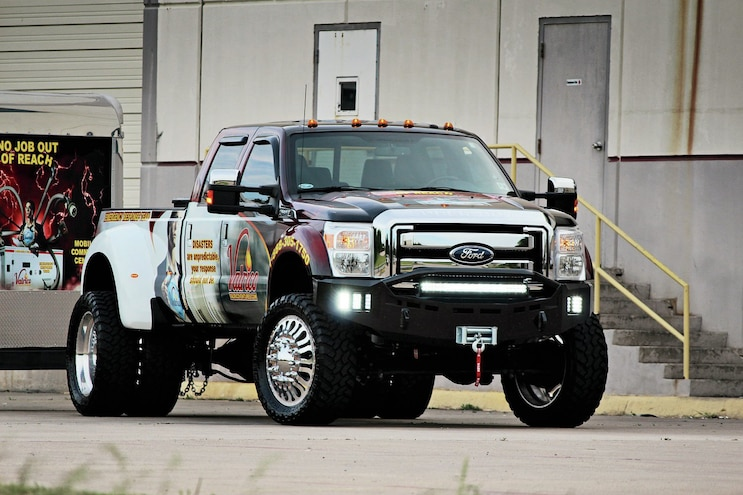 2013 Ford F-450 Super Duty - Recovery Effort