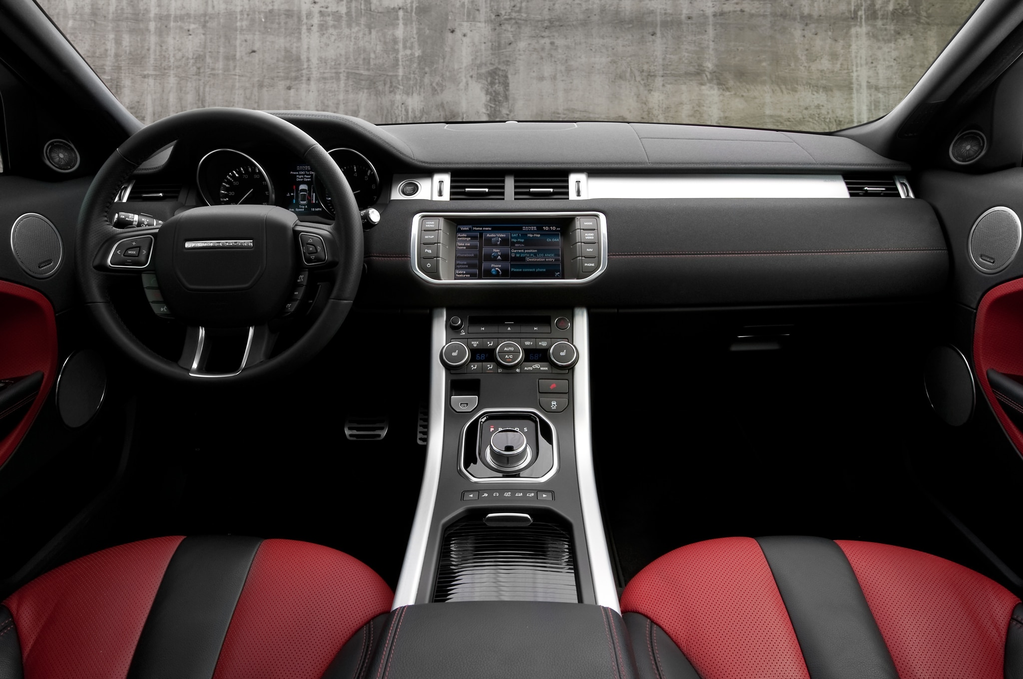 2012 Land Rover Range Rover Evoque Interior