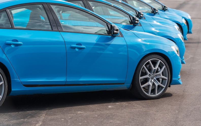 2015 Volvo S60 V60 Front Wheels View