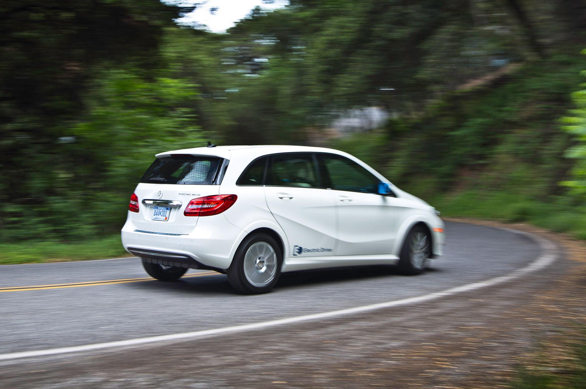 2014 Mercedes Benz B Class Electric Drive First Drive Motor Trend