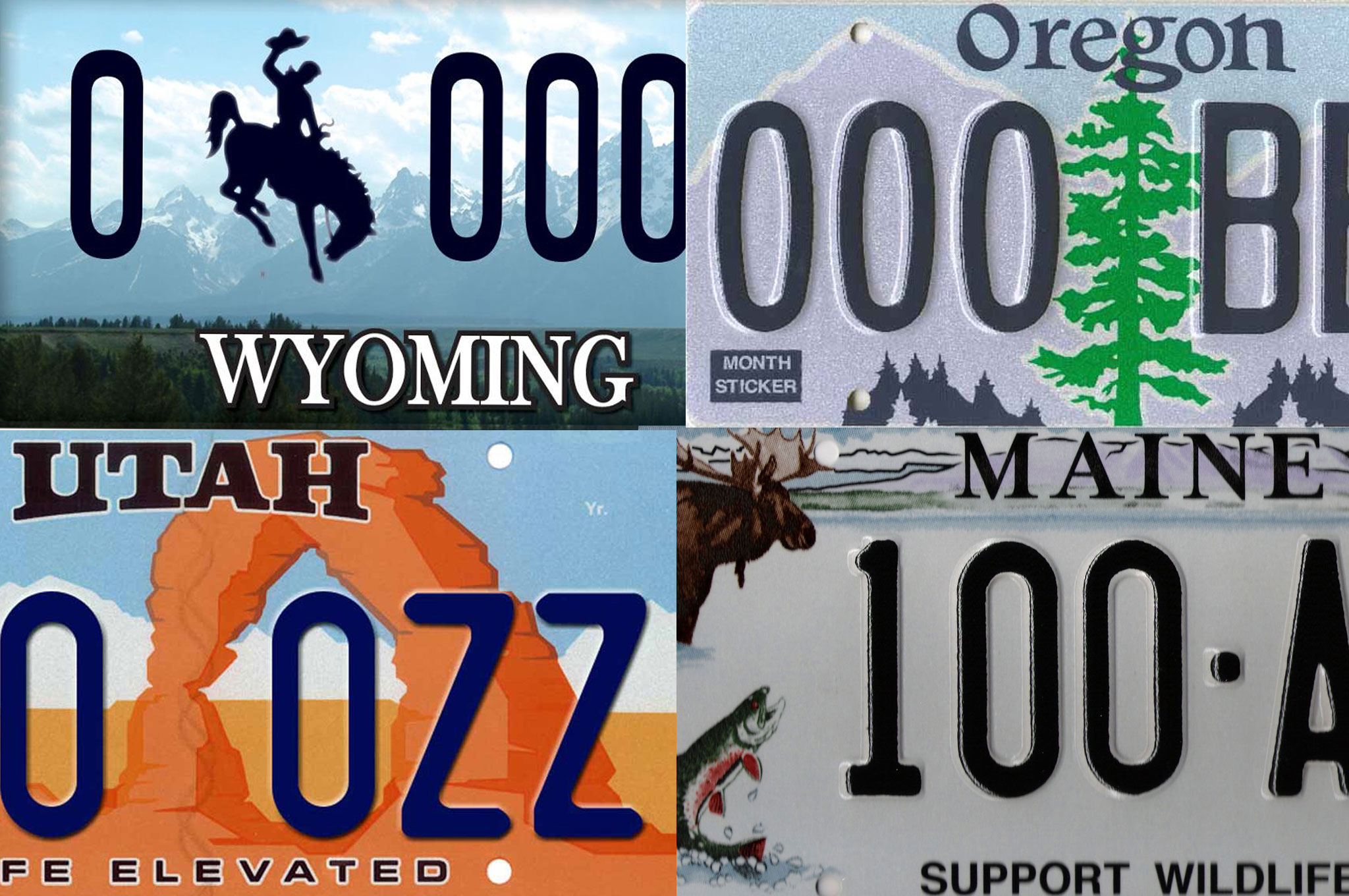 Survey Says: Wyoming Has Best License Plate, Delaware the Worst