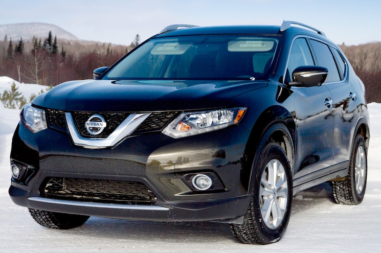 2014 Nissan Rogue Front Three Quarters