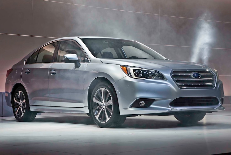 2015 Subaru Legacy First Look