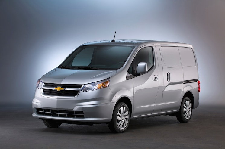 2015 Chevrolet City Express Front Three Quarter