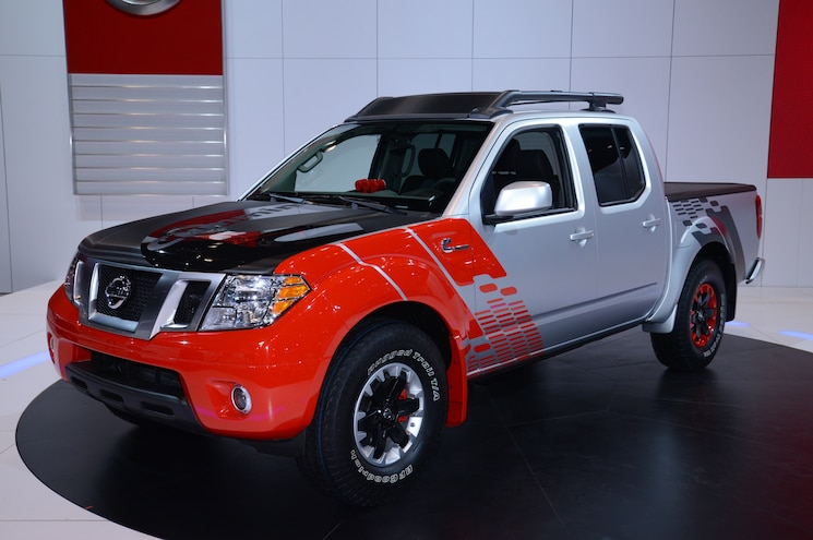 Nissan Frontier Diesel Runner Powered By Cummins Front View