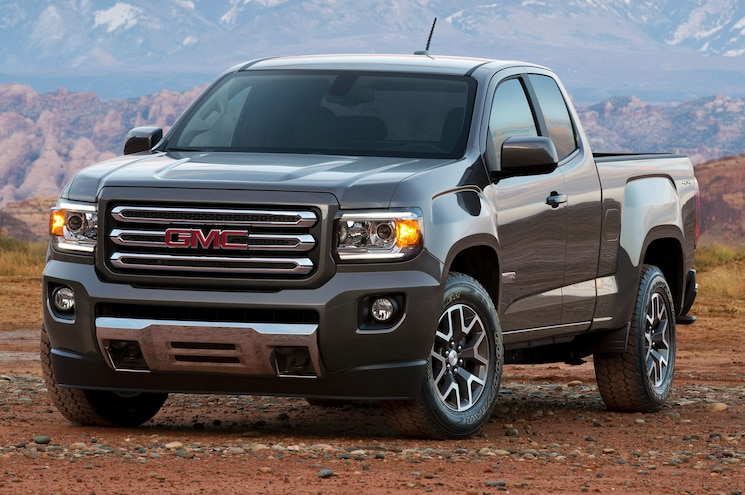 2015 GMC Canyon Front View