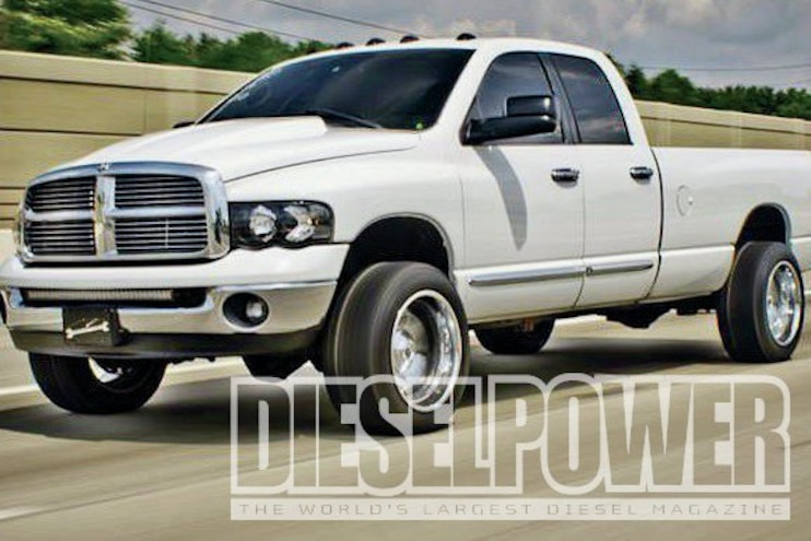 2004 Dodge Ram 3500 Front View