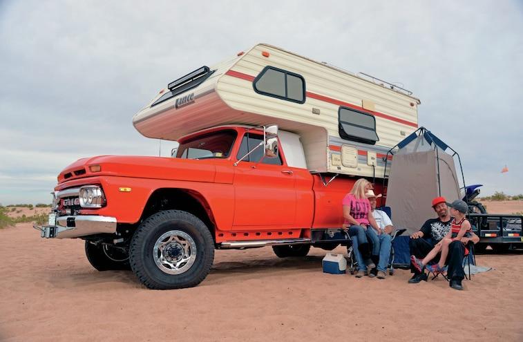Cummins Powered 1966 GMC Camper Truck