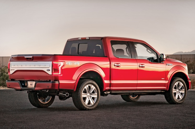 2015 Ford F 150 Rear View
