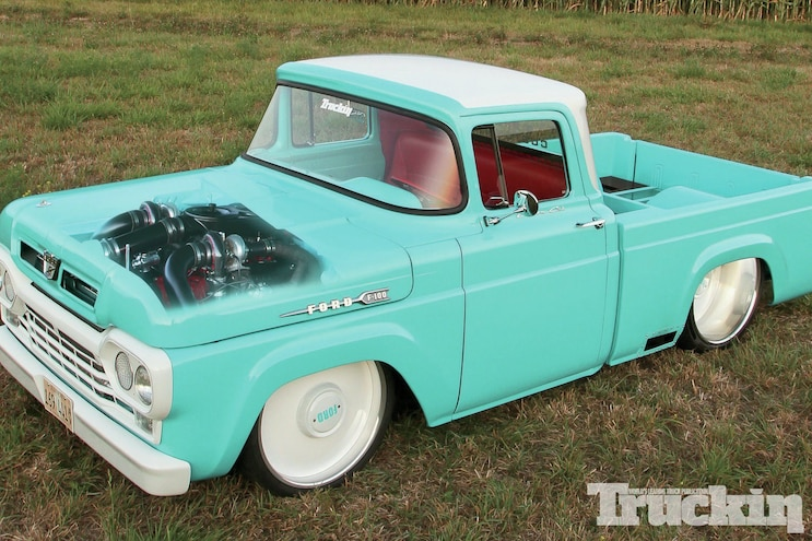 Ford F100 Front Top Three Quarter
