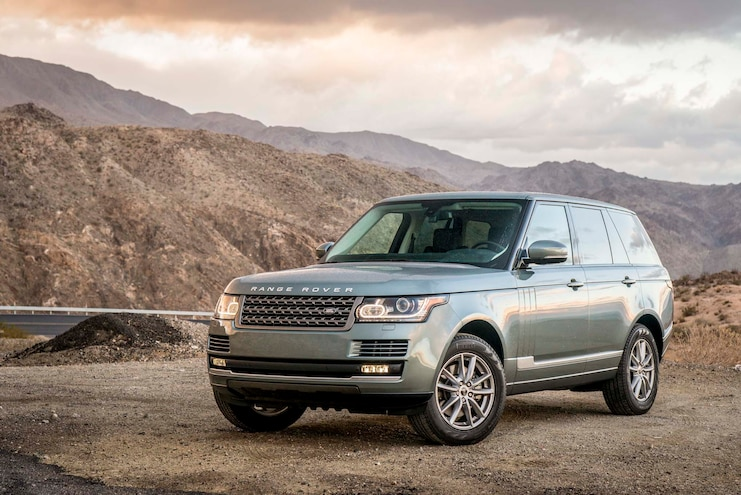 2014 Land Rover Range Rover Rover Front Three Quarters