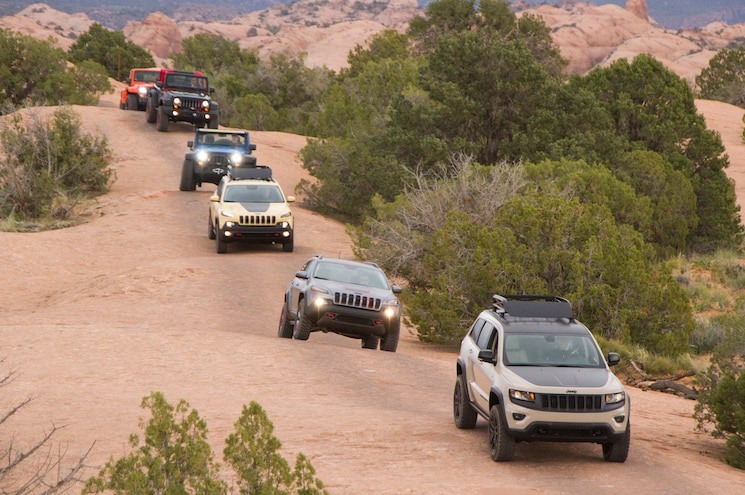 2014 Easter Jeep Safari Group