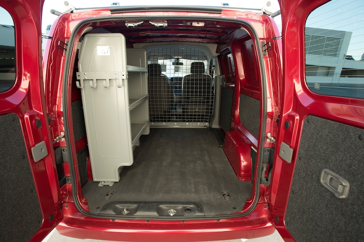 2013 Nissan NV200 Rear Inteiror Cargo Space
