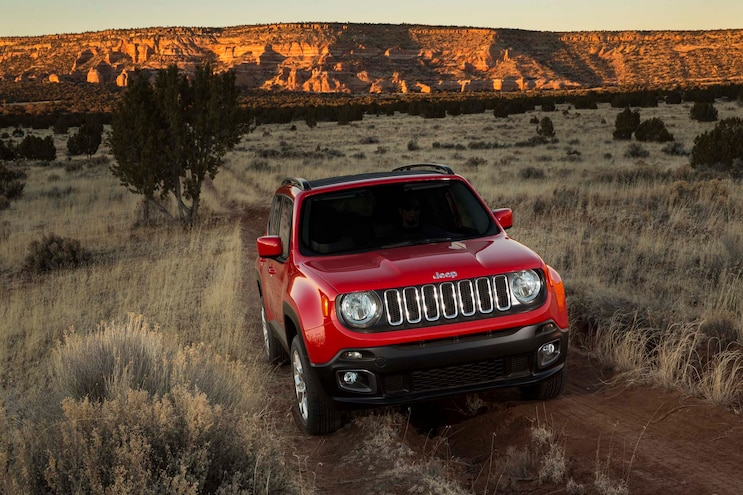 2015 Jeep Renegade Latitude Front End 03