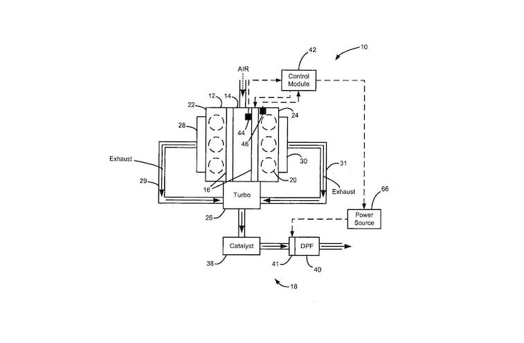 Next Gen Diesel Particulate Filter Technology EADPF Show A V 6 Engine