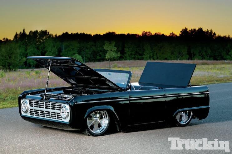 1971 Ford Bronco Open Doors