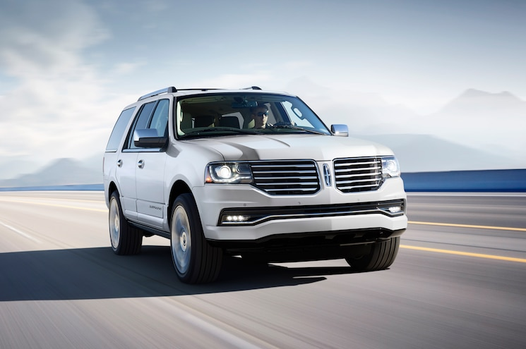 Lincoln Truck 2015 >> 2015 Lincoln Navigator First Look Truck Trend