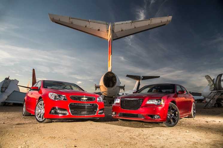 2014 Chevrolet SS vs. Chrysler 300 SRT Comparison