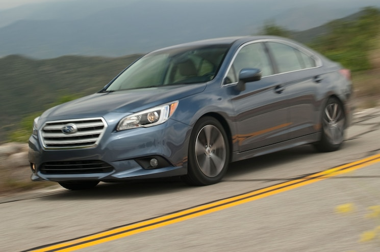 2015 Subaru Legacy 2.5i Limited First Test