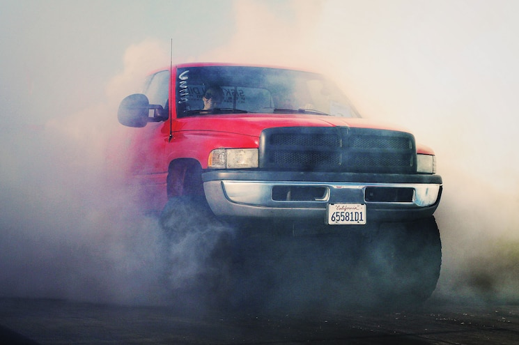 1997 Dodge Ram 2500 Front View