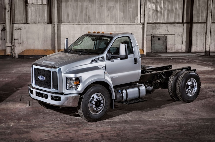 Ford F-650 and F-750 Power Stroke Designed to Go 500k Without Major Service