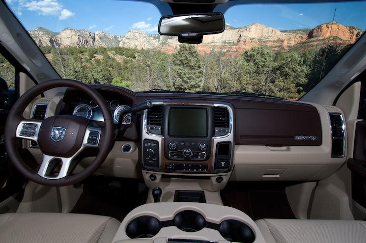 2014 Ram 2500 Power Wagon Interior