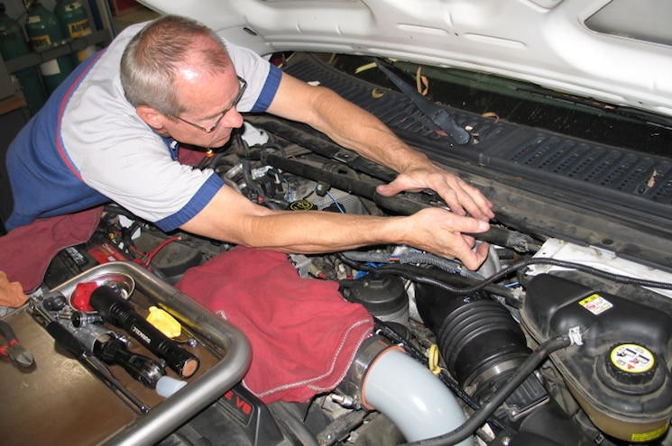 2007 Ford F 250 6 0L Power Stroke Garrett PowerMax By Banks Power 13