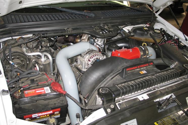 2007 Ford F 250 6 0L Power Stroke Garrett PowerMax By Banks Power 14