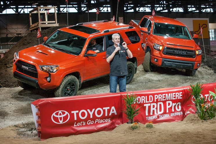 2015 Toyota Tacoma, 4Runner and Tundra TRD Pro First Looks