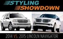 Lincoln Truck 2015 >> 2014 Vs 2015 Lincoln Navigator Styling Showdown Truck Trend