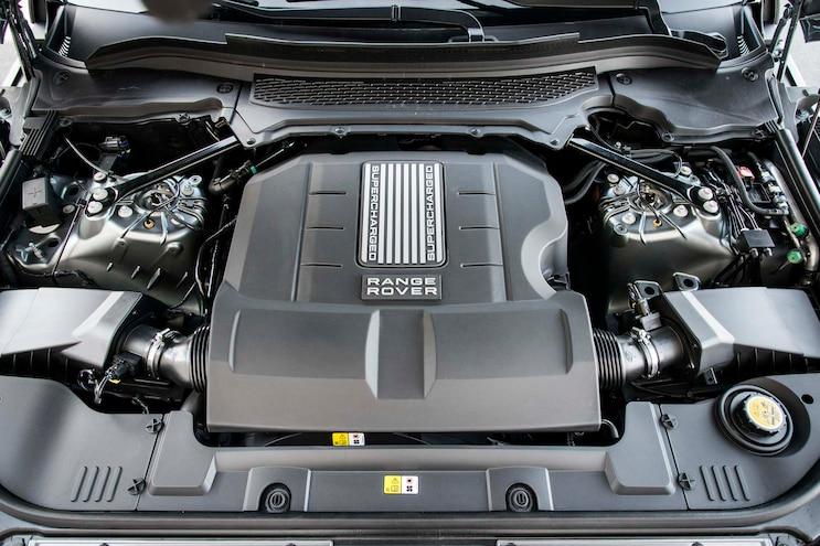2014 Land Rover Range Rover Engine