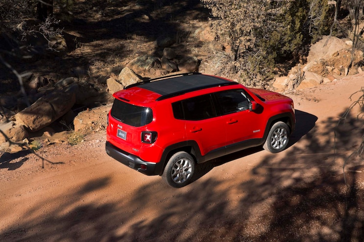 2015 Jeep Renegade Latitude Rear Three Quarter Profile