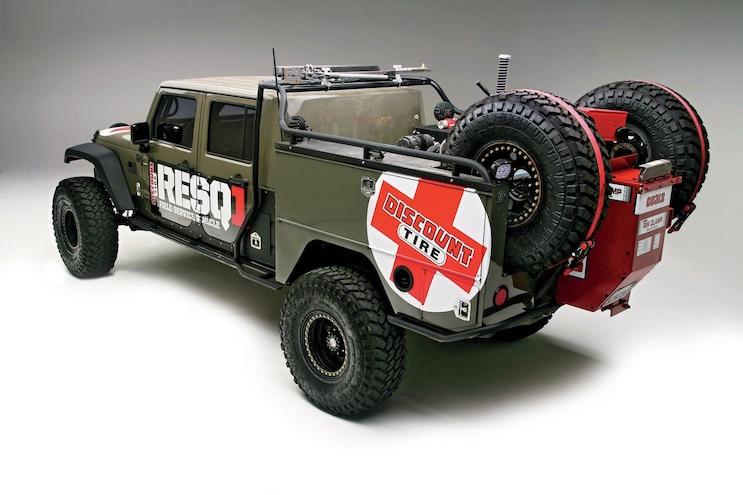 Off Road Evolution RESQ1 Field Service Vehicle