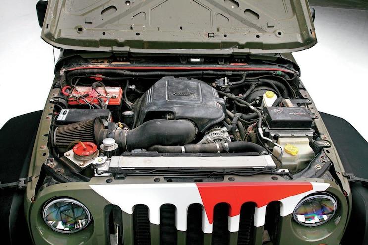 RESQ1 Field Service Vehicle Engine