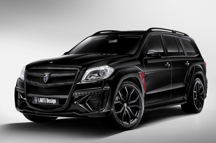 Larte Design Makes U.S. Debut with Package for Mercedes-Benz GL