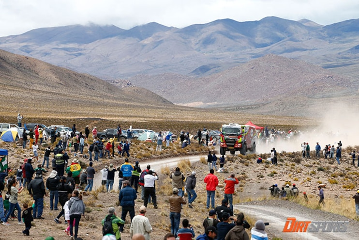 Spectator Killed During Seventh Stage of Dakar Rally