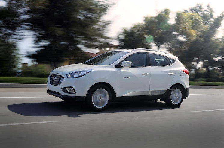 2015 Hyundai Tucson Fuel Cell First Drive