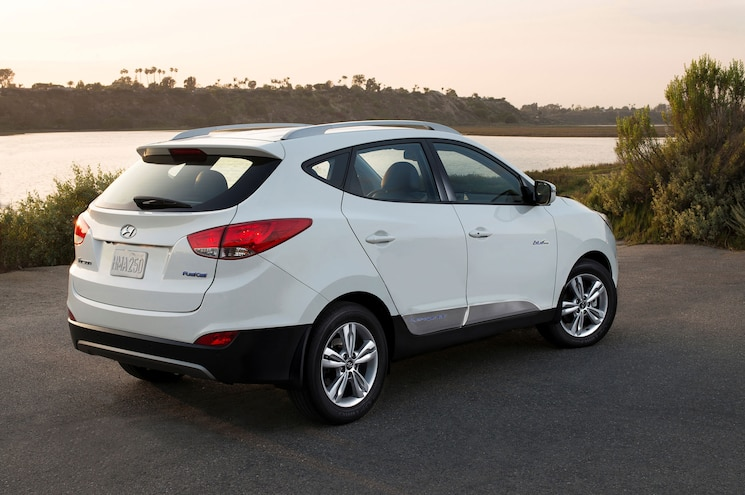 2015 Hyundai Tucson Fuel Cell Right Rear View