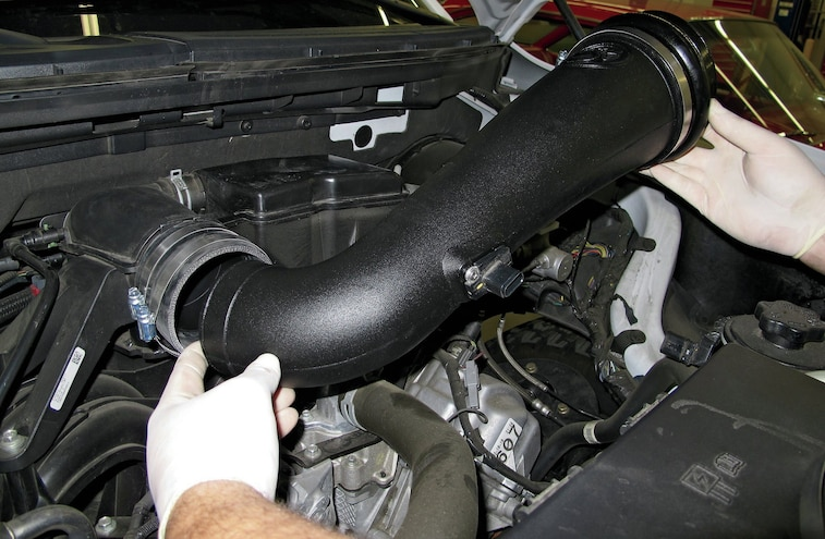 2009 2012 Ford F 150 Intake And Exhaust Install 16