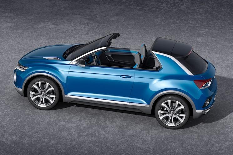 Volkswagen T ROC Concept Roof Open