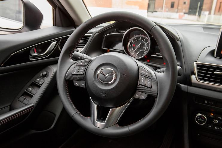 2014 Mazda3 S GT Hatchback Steering Wheel