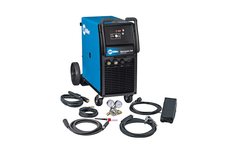Millers Electric New Inverter Based Syncrowave 210 TIG