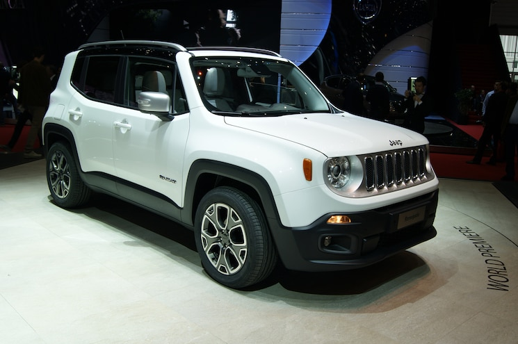 2015 Jeep Renegade Limited Show Floor On Stand