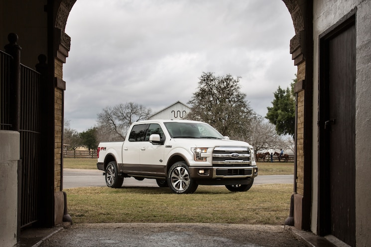 2015 Ford King Ranch F 150 Front