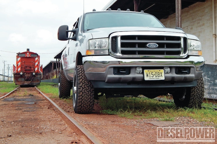2003 Ford F 250 Supe Duty Front View